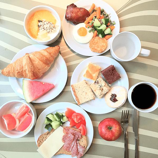 Hotel yasmin breakfast