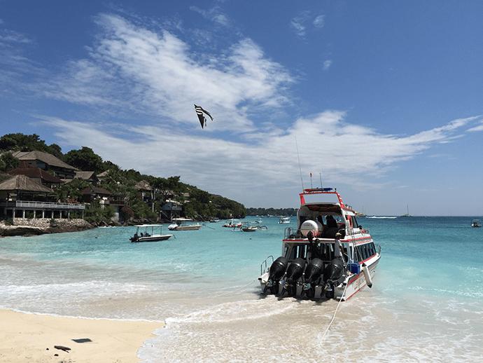 Rocky fast cruise Bali Nusa Lembongan